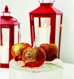 Sparkling Caramel Apples